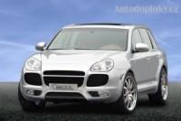 Přední spoiler pod nárazník Porsche Cayenne Turbo