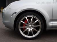 Lemy blatníku kompletní sada 18dílů Porsche Cayenne