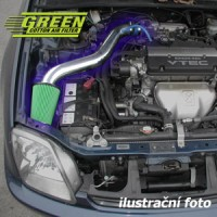 Air Intake System Green Speed'r Standart Porsche 996 3.6L CARRERA TURBO výkon 309KW (420hp) -- od roku výroby 2000-