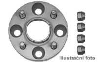 HR podložky pod kola (1pár) PORSCHE 993 rozteč 130mm 5 otvorů stř.náboj 71,6mm -šířka 1podložky 15mm /sada obsahuje montážní materiál (šrouby, matice) (HS 30957161)