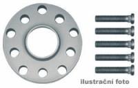 HR podložky pod kola (1pár) PORSCHE 968 rozteč 130mm 5 otvorů stř.náboj 71,6mm -šířka 1podložky 15mm /sada obsahuje montážní materiál (šrouby, matice)