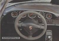 EVO RINGS rámečky kolem palubních přístrojů z leštěného hliníku Porsche 964 ( počet dílů v sadě 5 )
