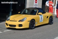CARACTERE přední nárazník s výdechy pro brzdy včetně carbon-kevlarových žeber Porsche Boxter