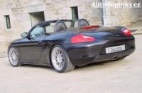 CARACTERE zadní nárazník se středovým carbon-kevlarovým difusorem Porsche Boxter -- do roku výroby -2003