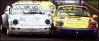 LESTER přední spoiler (pravá+levá) malý typ L=40mm Porsche 964 Carrera -- rok výroby 89-93